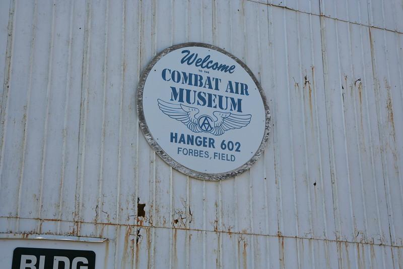 Combat Air Museum sign #2