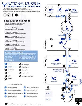 USAF Museum Map