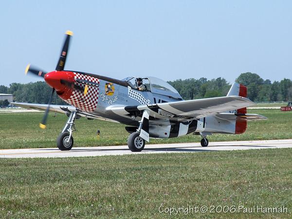 """1945 P-51D (SN 45-11553) N51VF """"Shangri-La"""""""