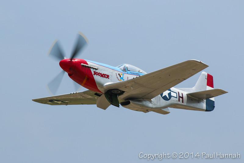 "Tim McPherson 1944 P-51D (SN 44-74832) N551TM ""Boomer"""