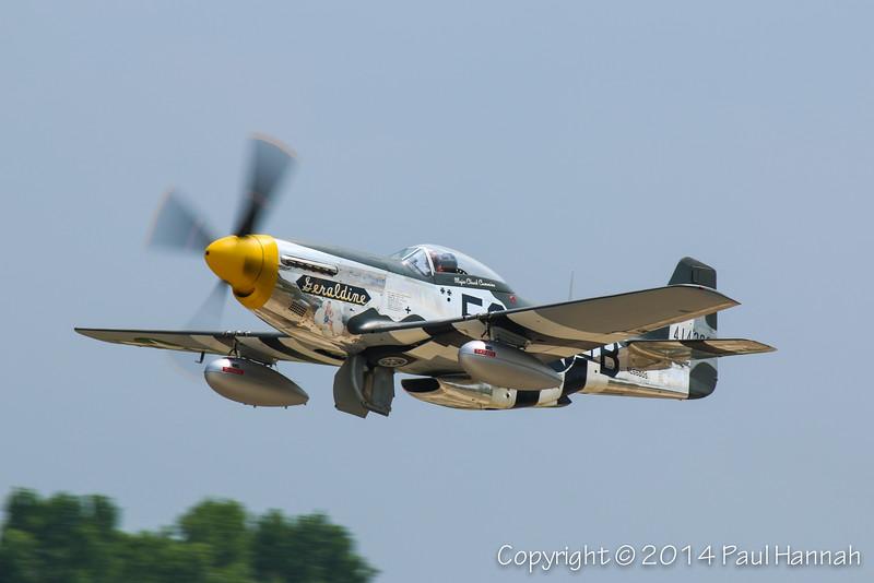 "Chuck Greenhill 1944 P-51D ""Geraldine"" N5500S"