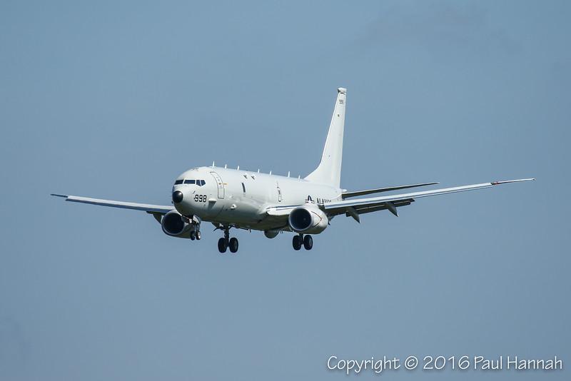 US Navy Boeing P-8 Poseidon 998
