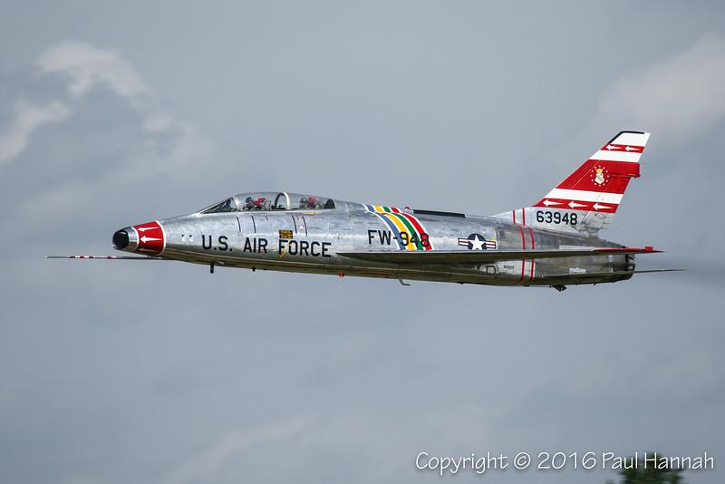 "Dean ""Cutter"" Cutchall's 1958 North American F-100F Super Sabre (N2011V)"