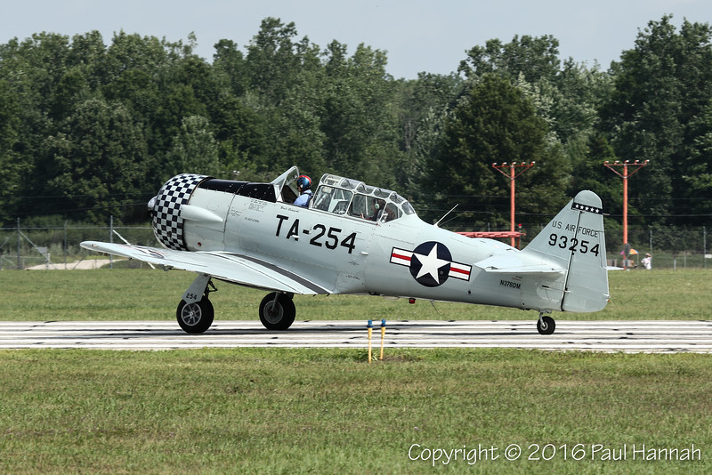Walter Gdowski's 1949 North American T-6G (SN49-3254) N378DM