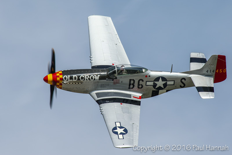 """Jack Roush's 1944 North American P-51D Mustang """"Old Crow"""" (SN44-74774) N451MG"""