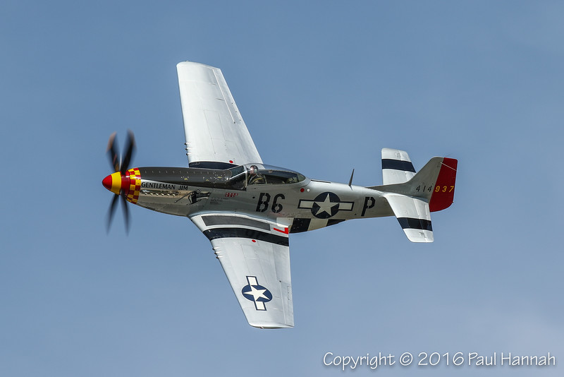 "Jack Roush's 1944 North American P-51D Mustang ""Gentleman Jim"" (SN44-74230 ) N551J"