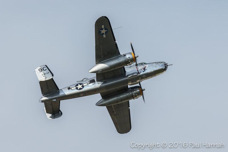 "Yankee Air Museum's 1943 B-25C Mitchell ""Yankee Warrior"" (SN43-3634) N3774"