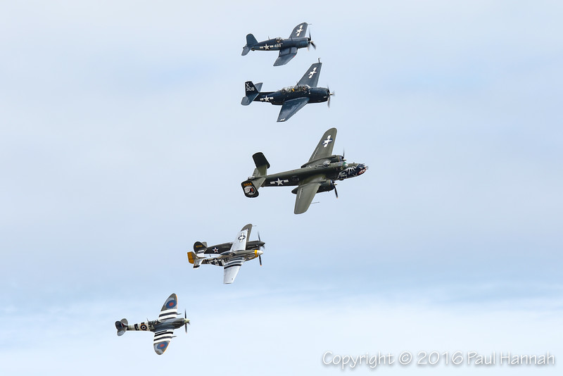 Texas Flying Legends Formation