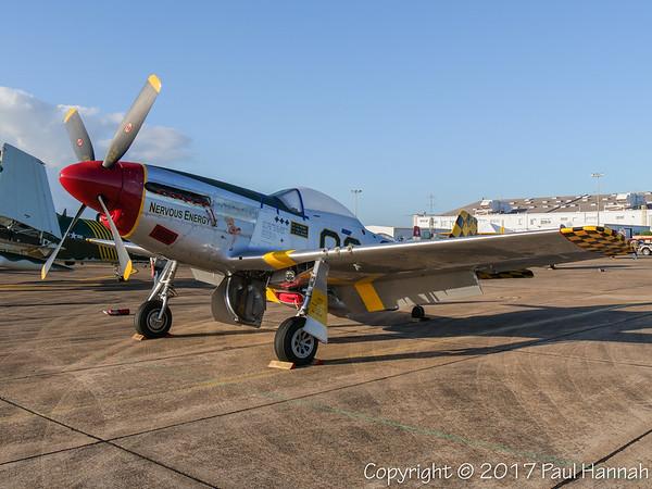 "MUSTANG AERO #2 INC 1945 P-51D Mustang (SN 45-11391) NL51MV ""Nervous Energy V"""