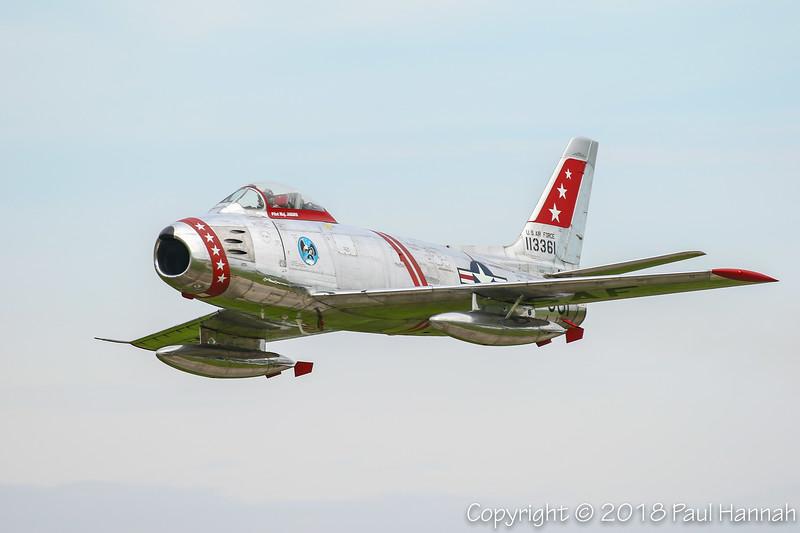 Paul Keppler (Sabrejet LLC) Canadair Sabre Mk. 6 (F-86E) N50CJ