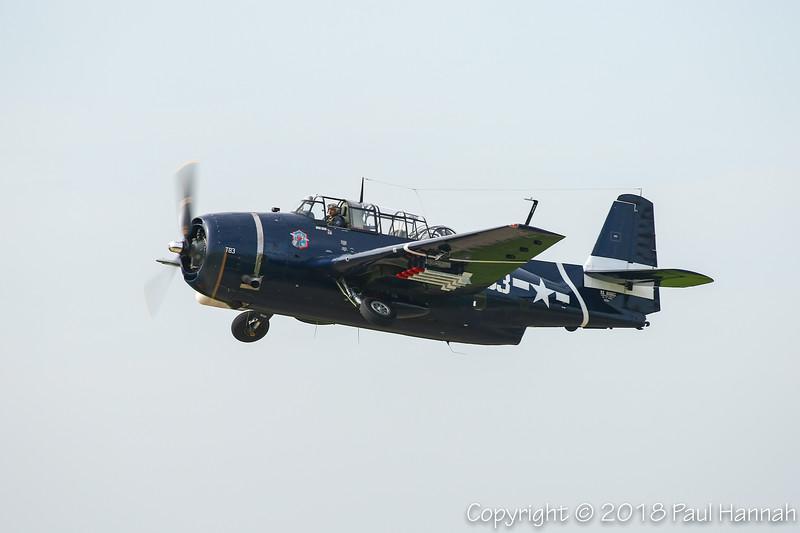 Brad Deckert 1945 TBM-3E NL81865