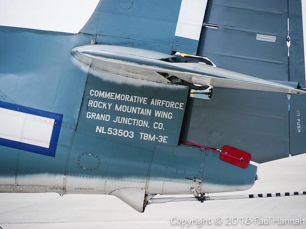 CAF-CO 1948 TBM-3E #309 NL53503