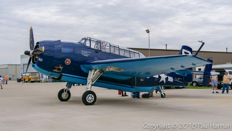 Simmons Aviation Services LLC/Heritage Flight Foundation (RI) 1945 TBM-3 #50 N85650