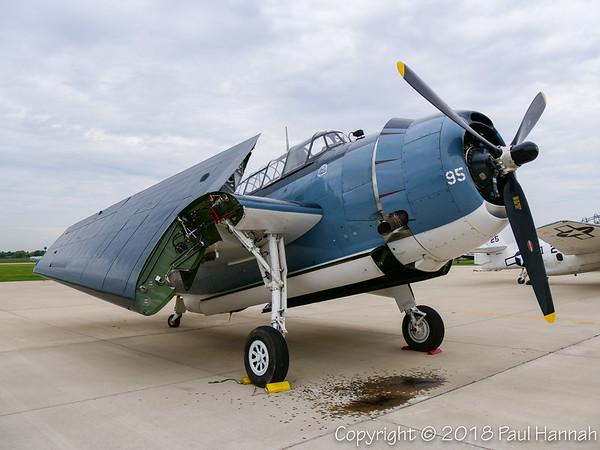 Charles Cartledge 1945 TBM-3E #95 NL436GM