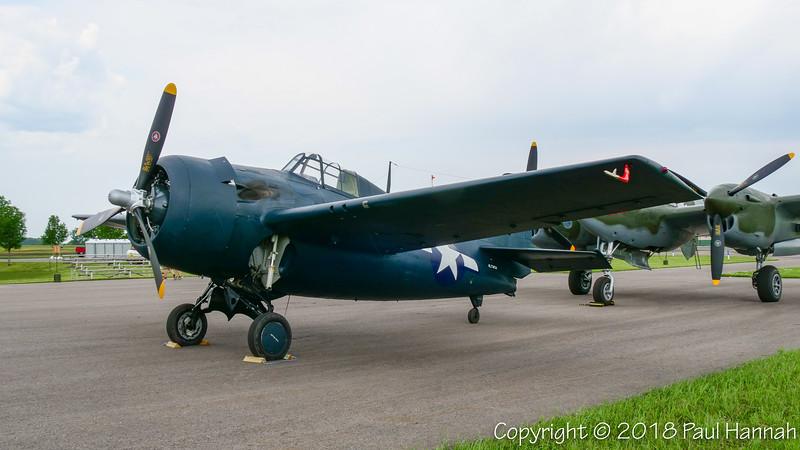Fagen Fighters 1945 GM FM-2 Wildcat (SN 86774) N774FM