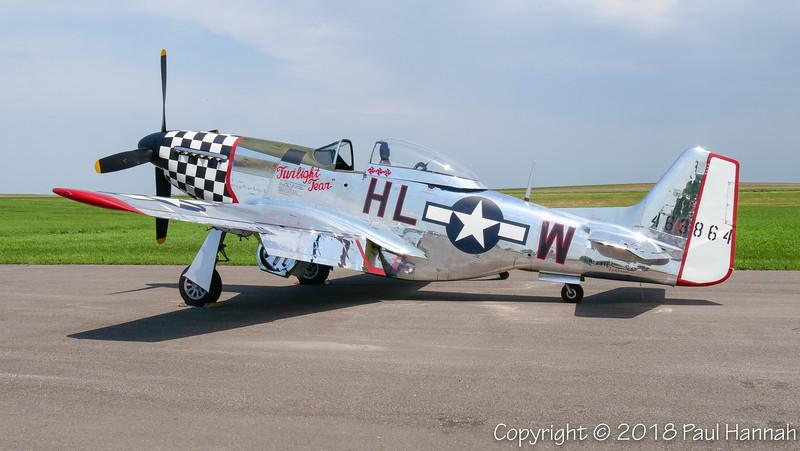 """Fagen Fighters 1944 NAA P-51D """"Twilight Tear"""" (SN 44-63864)  N251L"""