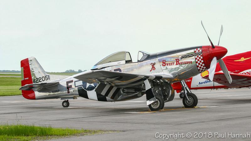 """Fagen Fighters 1944 NAA P-51D Mustang """"Sweet Revenge"""" (SN 44-72051) N68JR"""