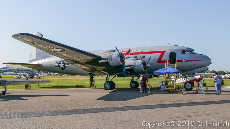 BERLIN AIRLIFT HISTORICAL FOUNDATION 1945 Douglas C-54 (SN 27370/44-9144) N500EJ