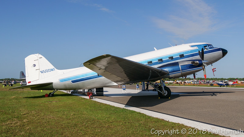 MISSIONARY FLIGHTS AND SERVICES INC 1944 Douglas DC-3C-TP (SN 27047) N500MF