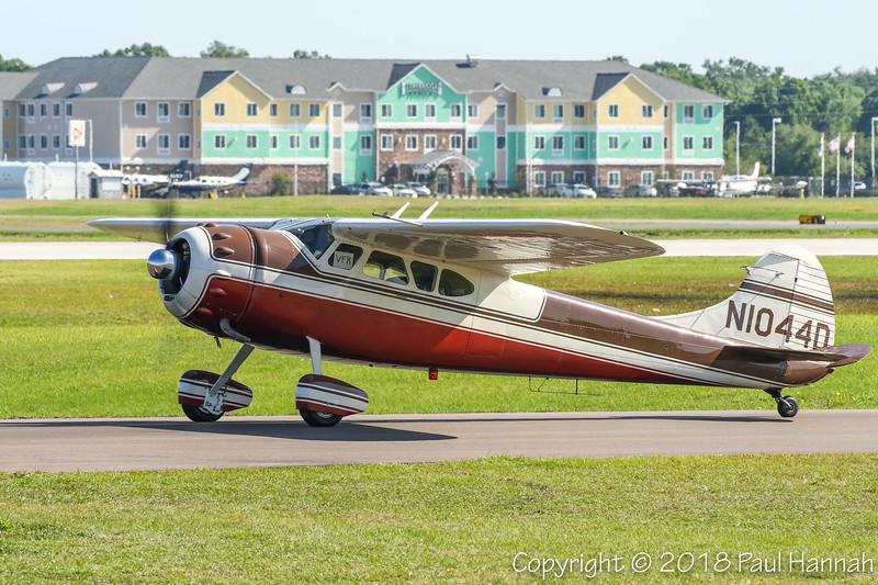 WEAVER AERO INTERNATIONAL INC 1951 Cessna 190 (SN 7656) N1044D