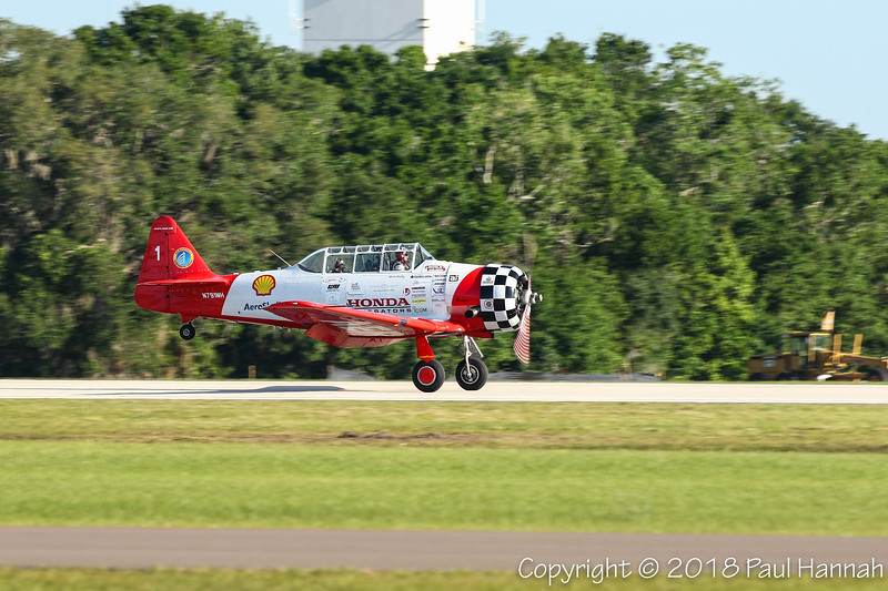 Aeroshell #1 - HENLEY AVIATION INC NAA T-6G (SN 5114791) N791MH