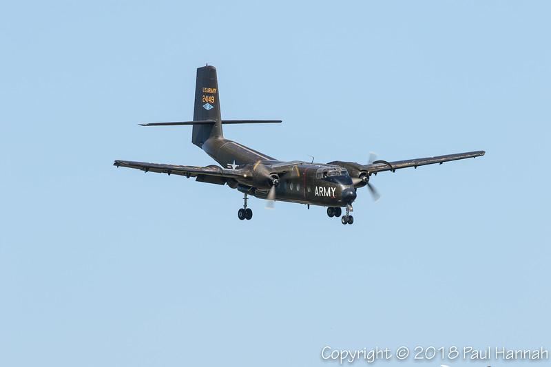 Cavanaugh Flight Museum DeHavilland 1962 DHC-4A Caribou (SN 085) N149HF