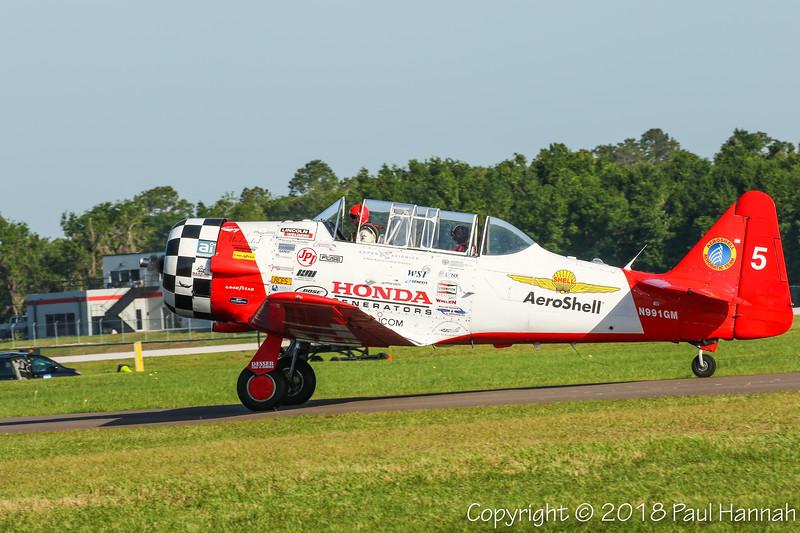 Aeroshell #5 - MCAVIATION INC 1941 NAA AT-6C (SN 88-17575) N991GM