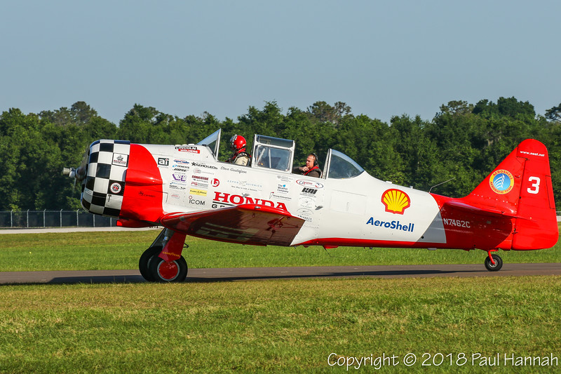 Aeroshell #3 - 5GUS INC NAA T-6 (SN 12163211) N7462C