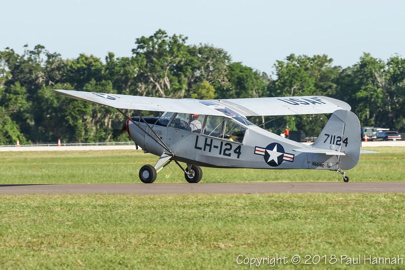 RANDALL PATTERSON 1947 Aeronca L-16A (SN 47-1124) N6091C