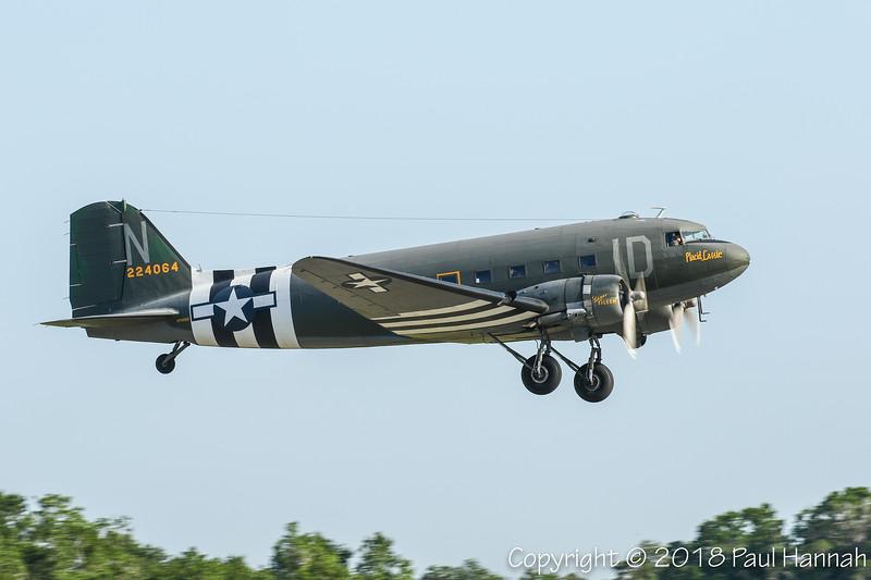 "TUNISON FOUNDATION 1942 C-47 ""Placid Lassie"" (SN 9926) N74589"
