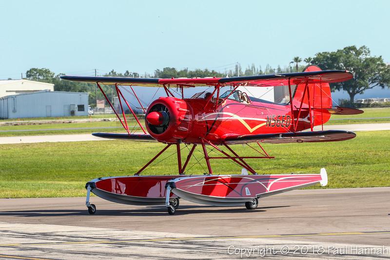 WACO CLASSIC AIRCRAFT CO Waco YMF N56ED
