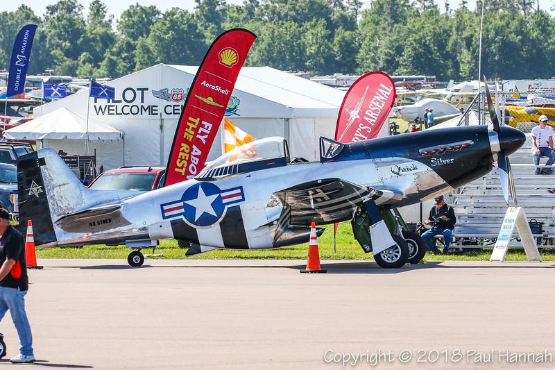 """Scott Yoak's 1945 P-51D """"Quick Silver"""" (SN 45-11439) N51HY"""