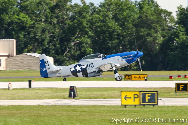 "CONRAD YELVINGTON SALES LLC NAA P-51D Mustang ""E Pluribus Unum"" (SN 44-73142) N51GY"