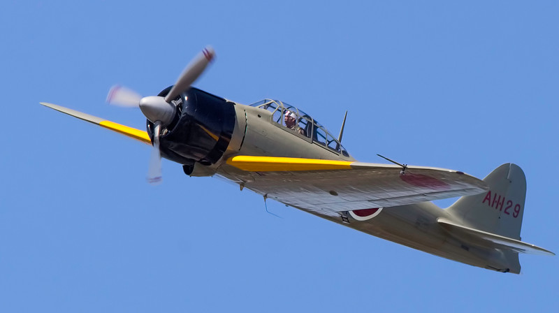 "Mitsubishi A6M ""Japanese Zero."""