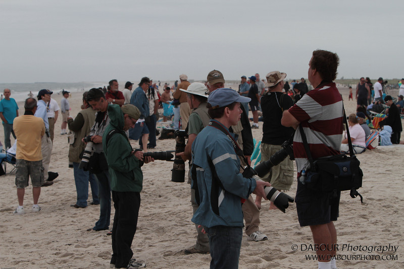JonesBeachAirshow2010-1035 - I wasn't the only photog on the beach - by a long shot!
