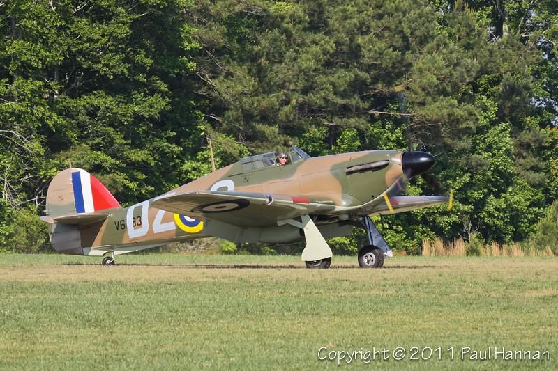 1943 Hawker Hurricane N943HH 1