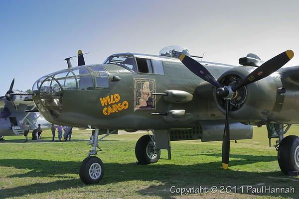 "Jerry Yagen 1944 North American B-25J (SN 44-30129) N7947C  ""Wild Cargo"""