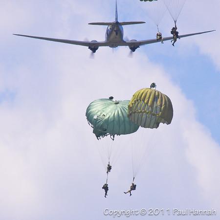 US Paratrooper Reenactors-9