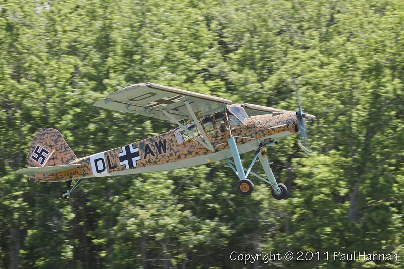 1949 Morane-Saulnier MS 500 N42FM takeoff