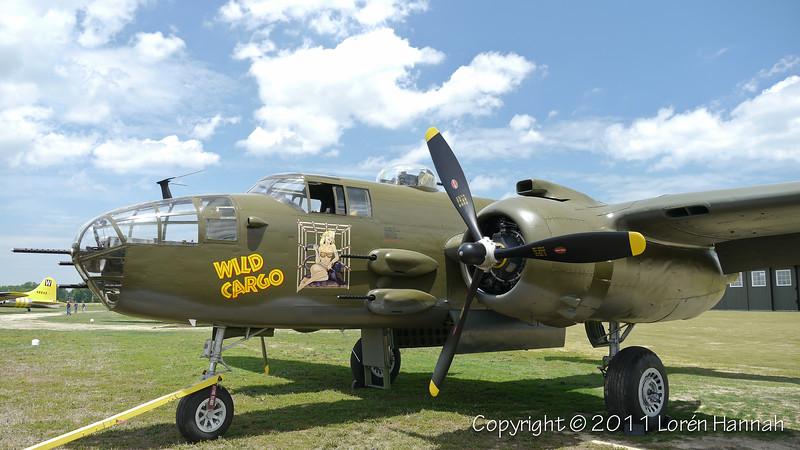 "1944 North American B-25 ""Wild Cargo"" N7947C SN 44-30129"