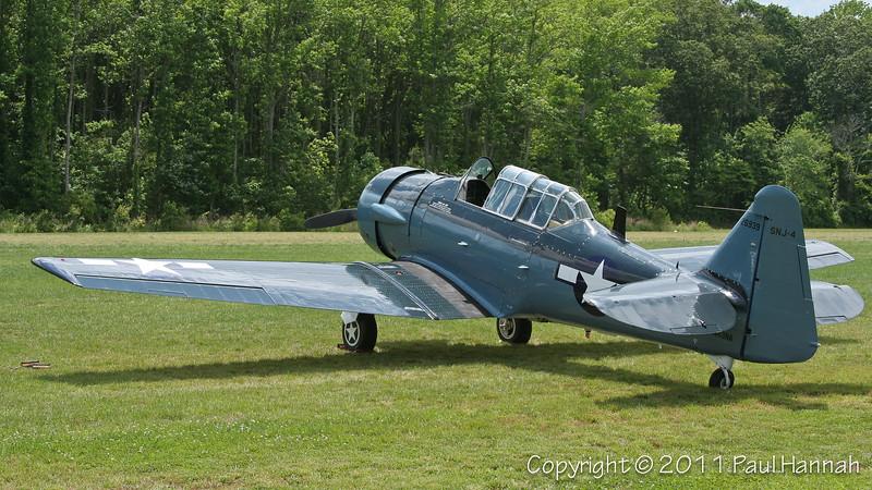 1943 North American SNJ-4 N43NA