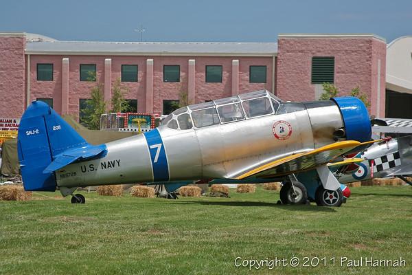 1940 North American SNJ-2 N55729