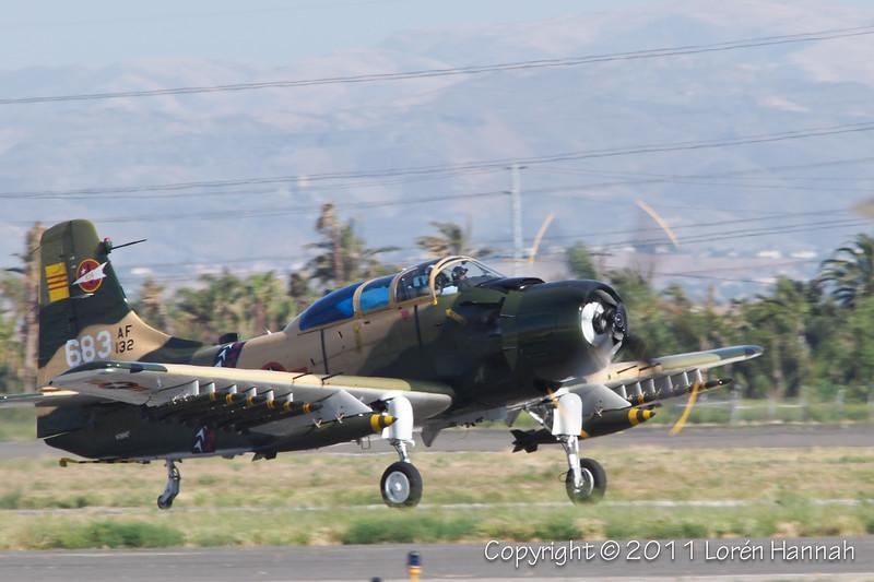 Douglas A1-E Skyraider, N39147