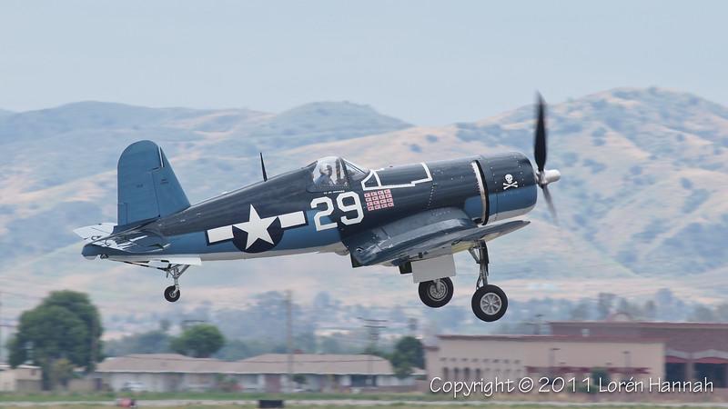 1945 Goodyear FG-1D Corsair, NX29VF