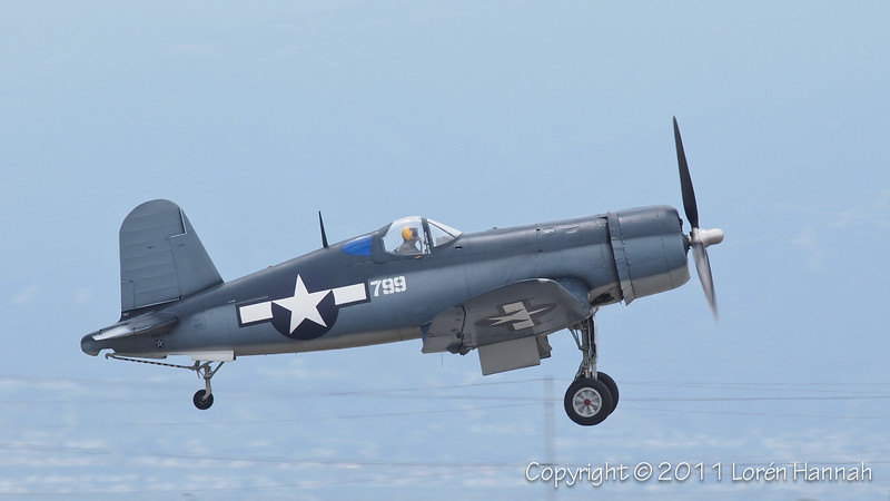 1942 Chance Vought F4U-1 Corsair, N83782