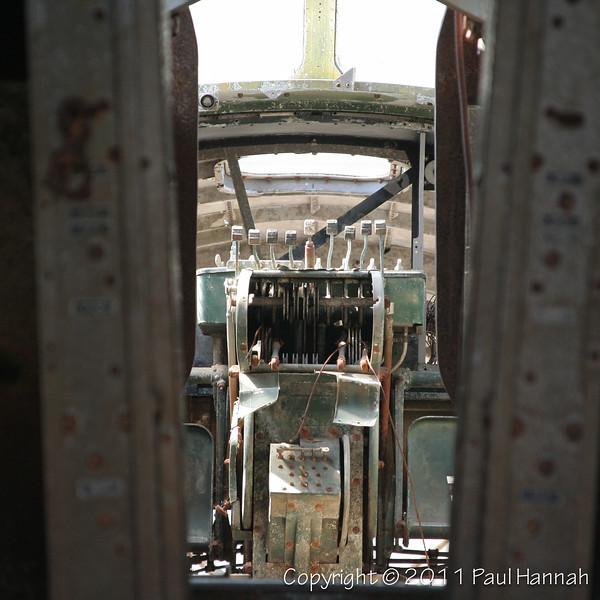 "B-17E ""Swamp Ghost"" Flight Deck"