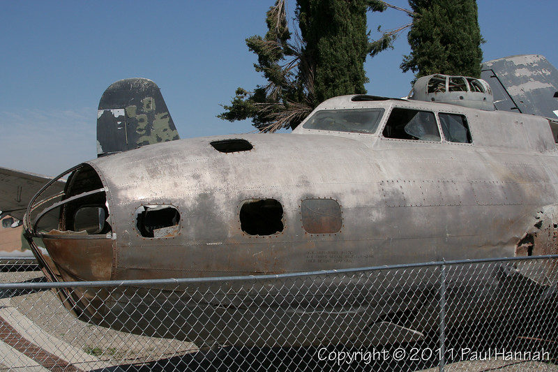 """Pacific Aviation Museum 1941 B-17E (SN 41-2446) """"Swamp Ghost"""" - Photographed at POF, Chino, CA"""