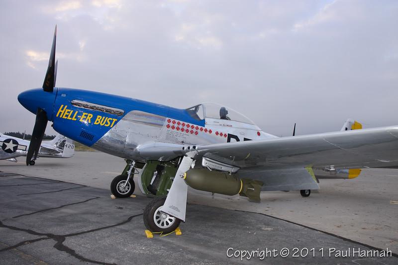 1944 North American P-51D, N7551T
