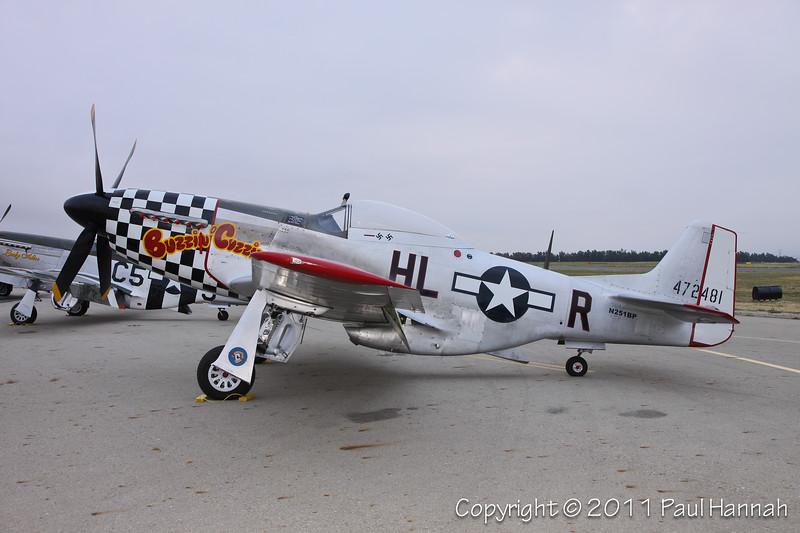 "Cielos LLC 1944 P-51D (SN 44-84753) N251BP ""Buzzin Cuzzin"""