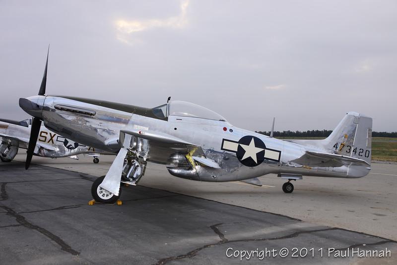 1944 North American P-51D, NL7722C